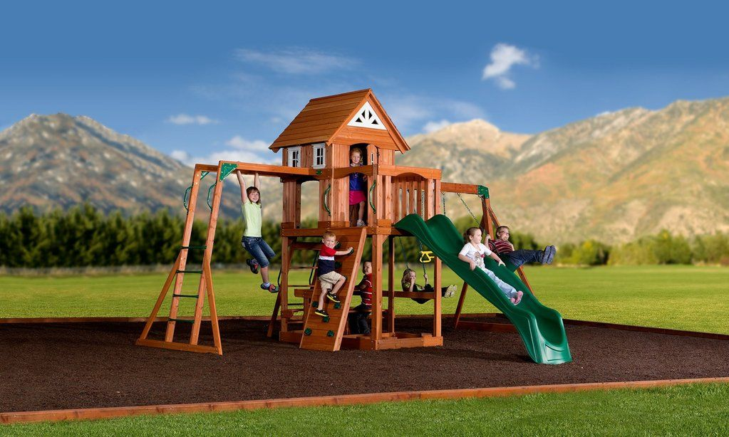 Backyard Discovery Somerset Swing Set (With images ...
