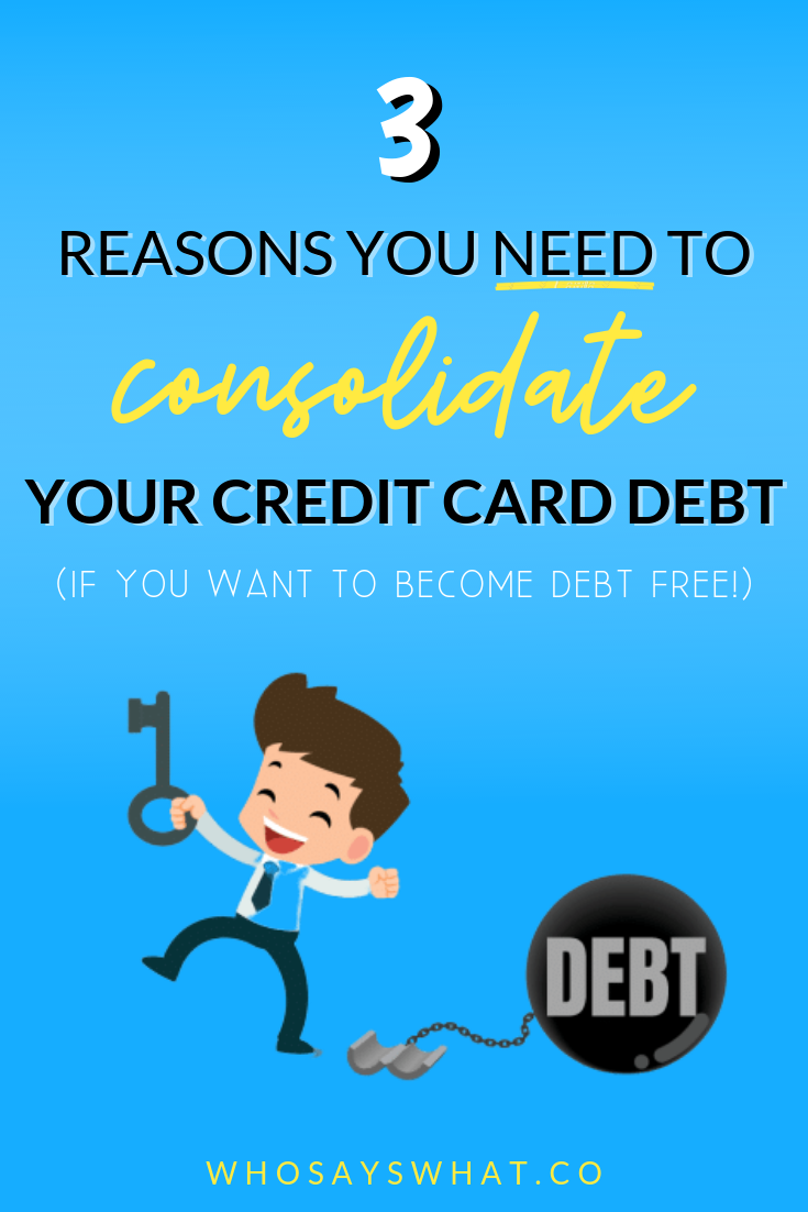 How To Pay Off Credit Card Debt Fast Who Says What Paying Off Credit Cards Credit Card Consolidation Consolidate Credit Card Debt