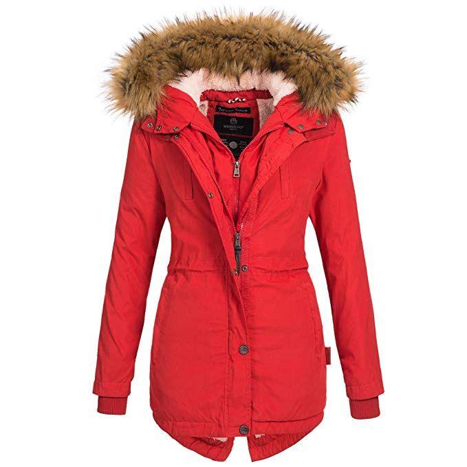 Winterjacke Akira Warm Marikoo Damen Mantel Jacke Parka N8n0vmw