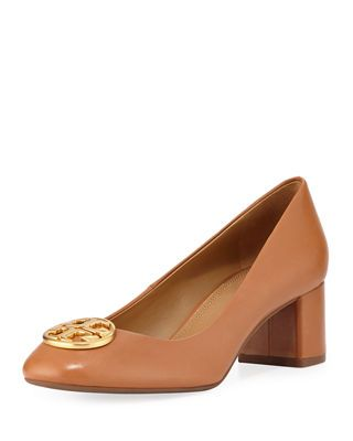 d7467d44aa5ba Tory Burch Chelsea Medallion 50mm Pump Pumping
