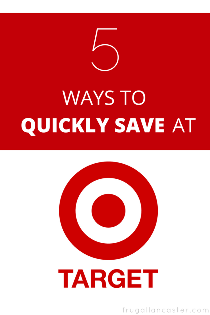 5 Ways to Quickly Save at Target - Coupons, Apps, Gift Cards ...