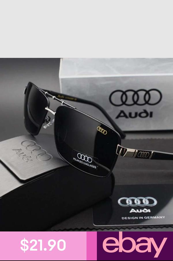 NEU Sonnenbrillen Sunglasses Audi  Luxury Metal Men Polarized With Box