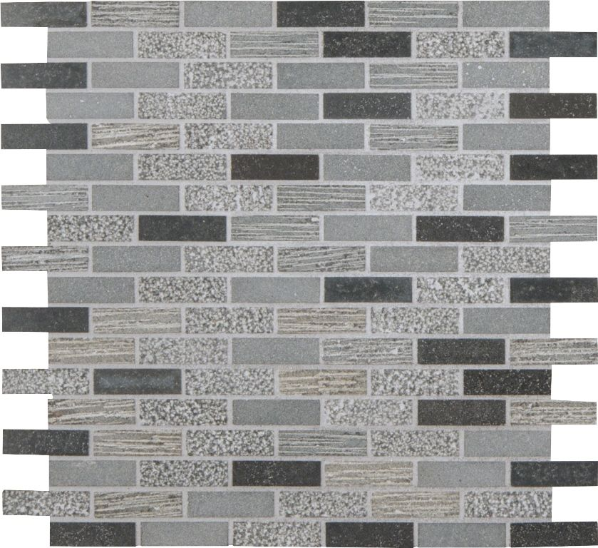Shale 5 8x2 Mixed Finish Mosaics Mosaic Decor Textured Walls Wall Tiles