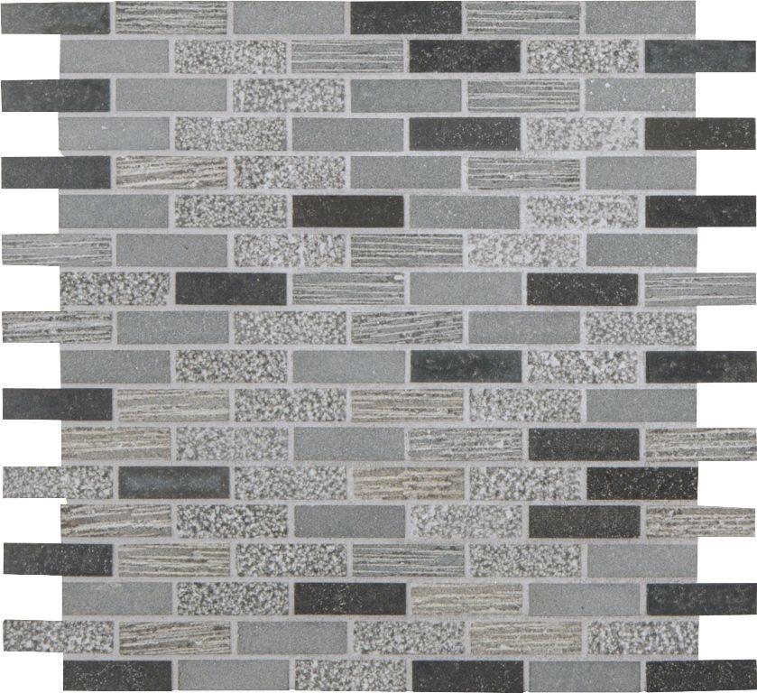 Shale 5 8x2 Mixed Finish Mosaics Mosaic Decor Textured Walls Wall Tiles
