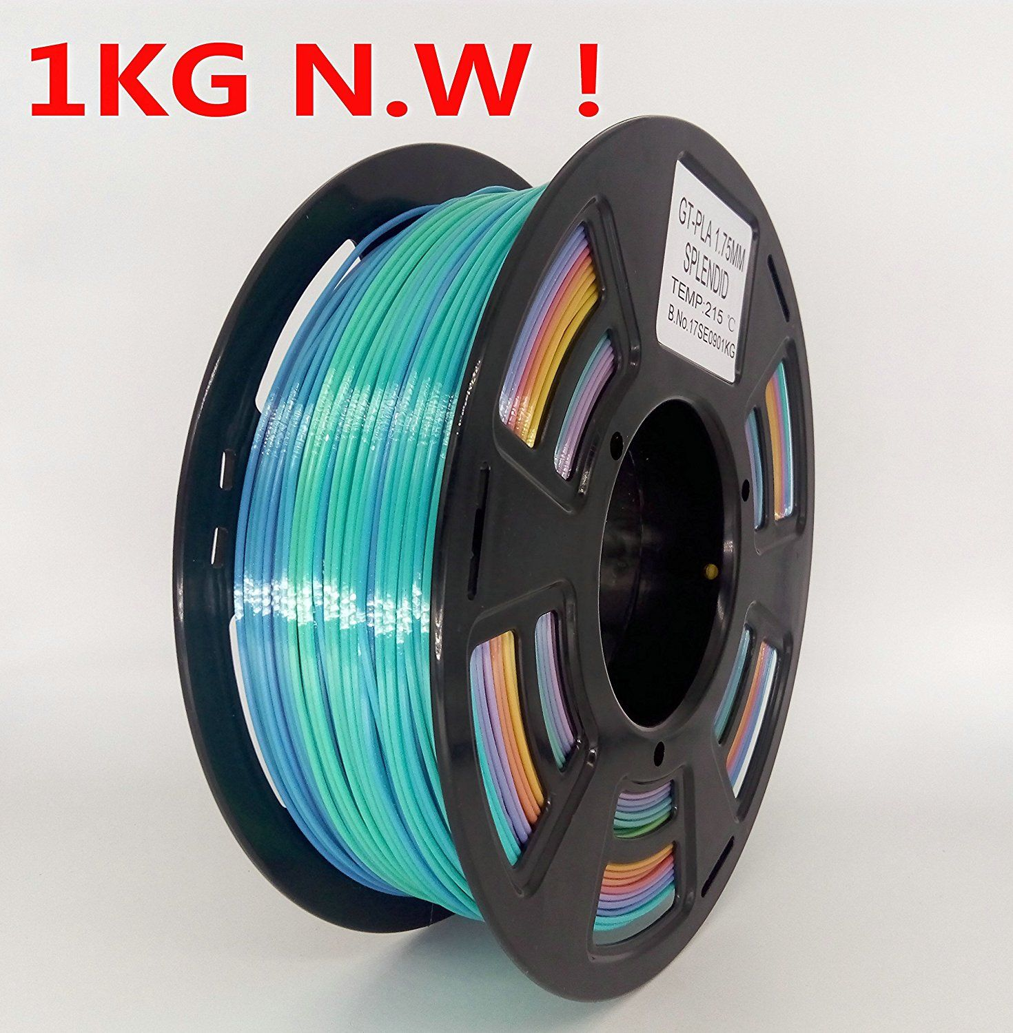Color changing filament?! Stronghero3d FDM 3D Printer PLA