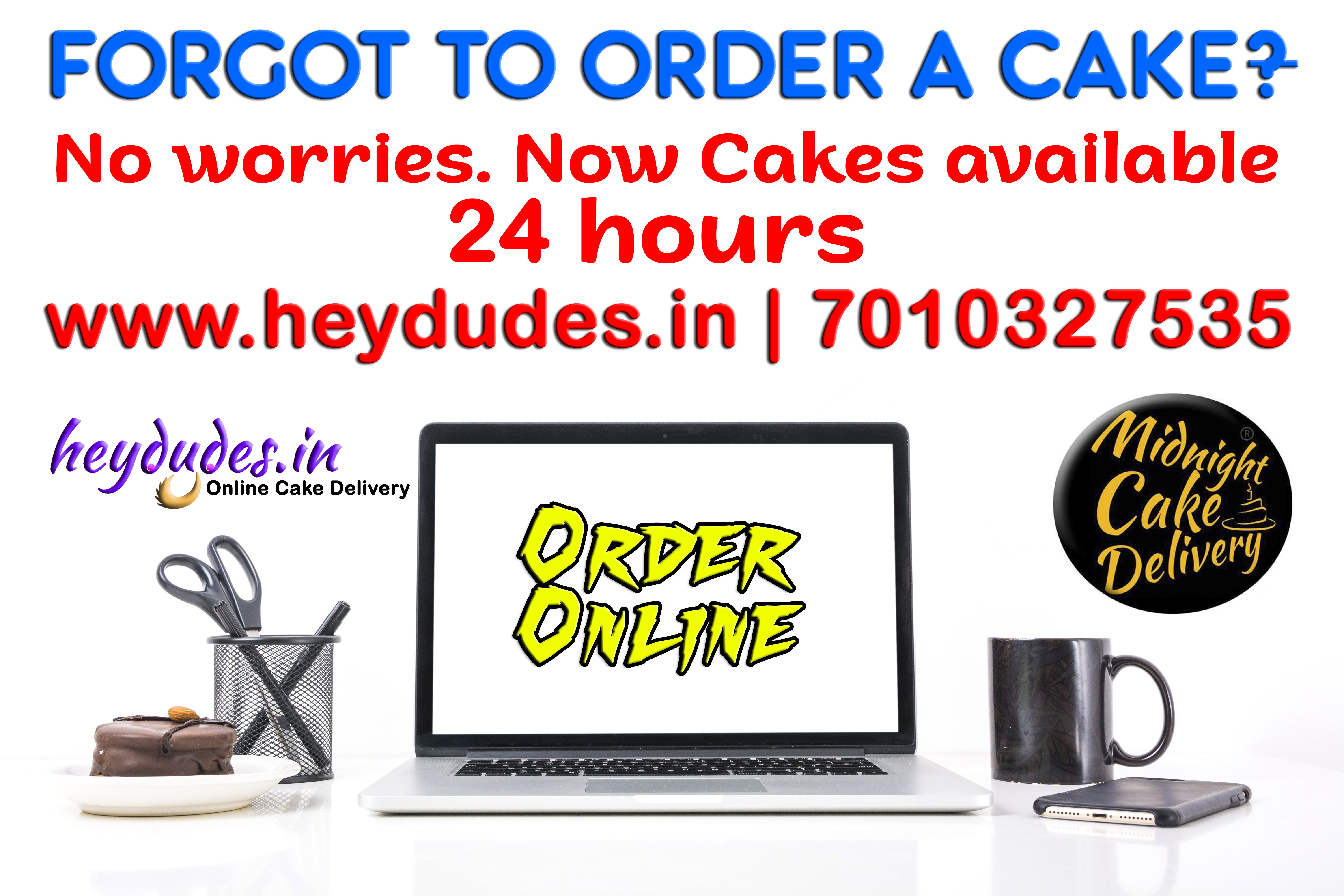 Midnight cake delivery in chennai Best cakes at anytime
