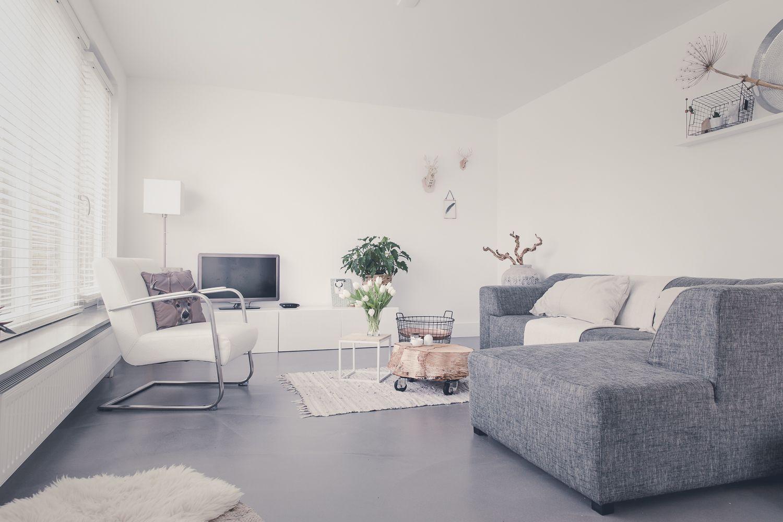Gietvloer Op Slaapkamer : Beton flow cementgebonden gietvloer. zeer geschikt voor in uw