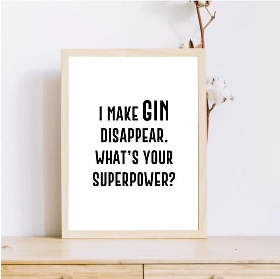 Gin Quote Printable Art Bar Poster Gin Sign Gin Poster Alcohol Quote Bar Decor Alcohol Sign Funny Quotes Sign Quotes Alcohol Quotes