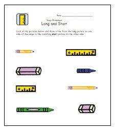Teach Length Long And Short Worksheets Kids Learning Station Kindergarten Worksheets Learning Stations Childrens Worksheets Toddler printable worksheets age 3