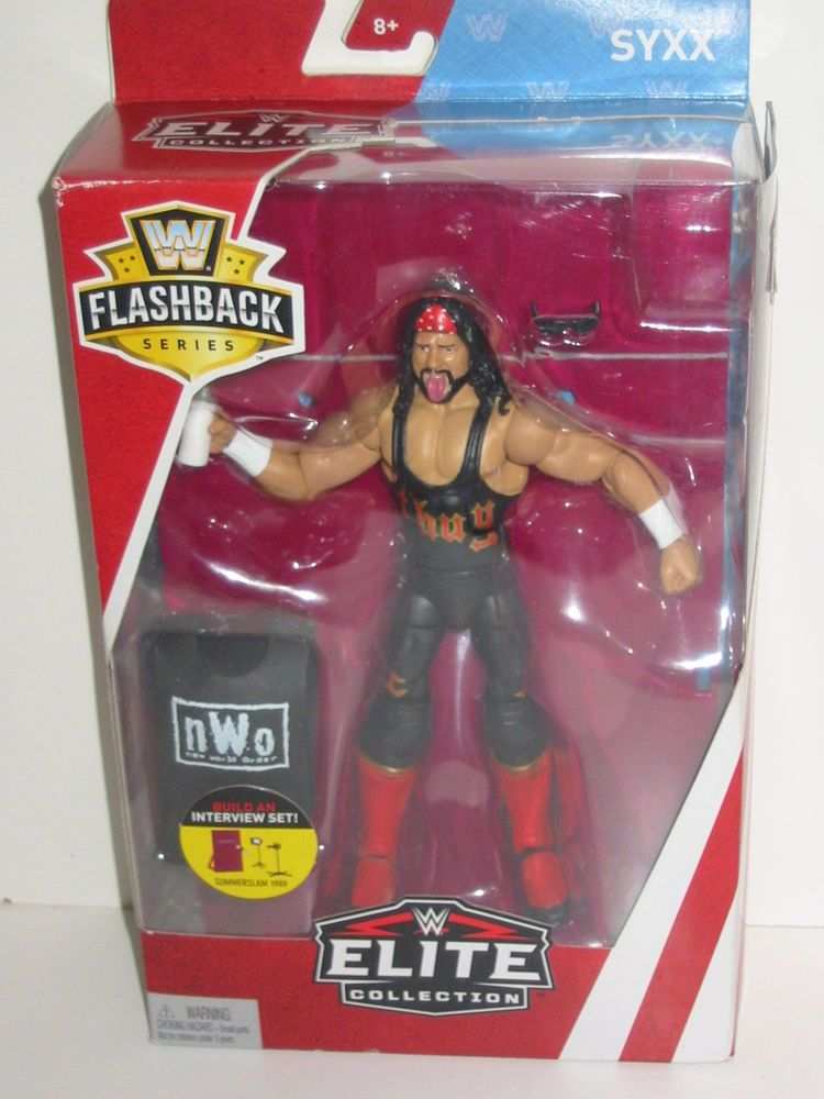 WWE Elite Collection SummerSlam Syxx Action Figure Mattel Toys