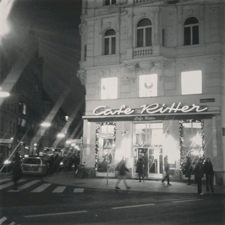Cafe Ritter Mariahilf Vienna Pinterest Cafes And Vienna