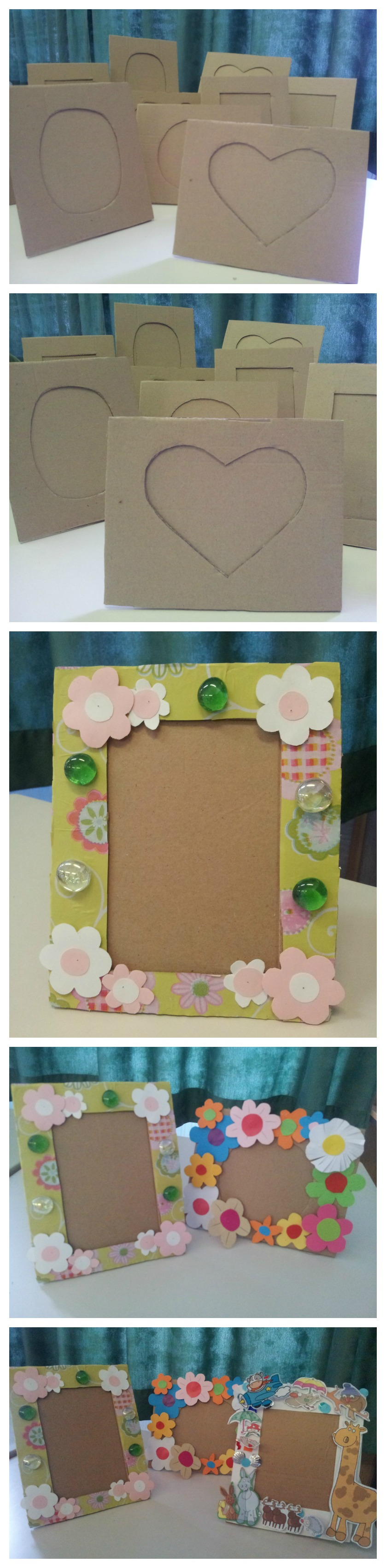 Diy paper frame kids activities my school crafts pinterest diy paper frame kids activities jeuxipadfo Choice Image