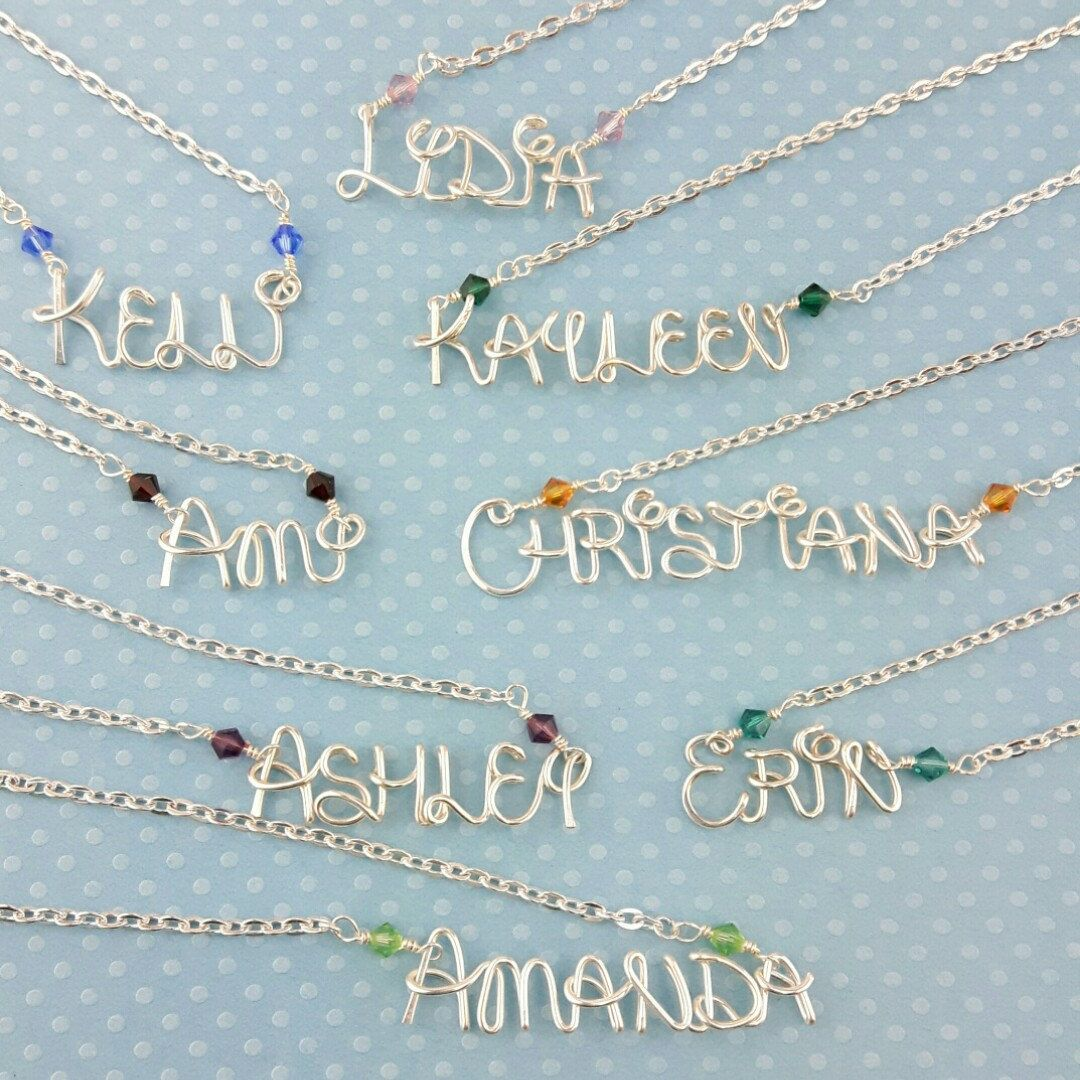 Our handcrafted Disney necklaces make great personalized gifts. Add ...