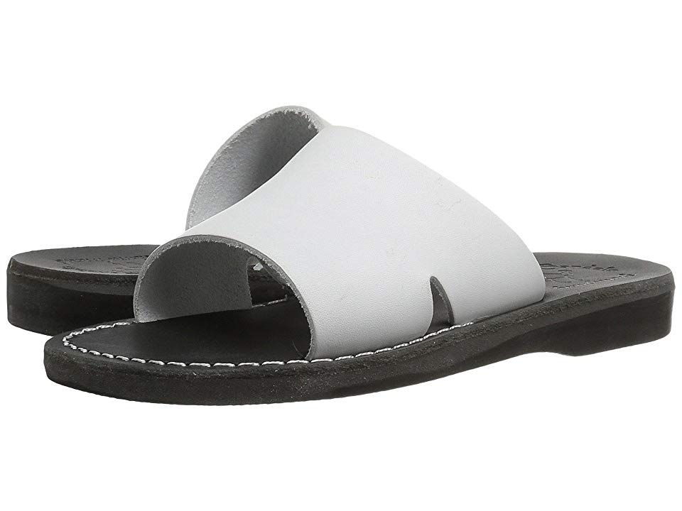 67bab6dfc13 Jerusalem Sandals Bashan - Womens (Black White) Women s Shoes. Feel a  connection
