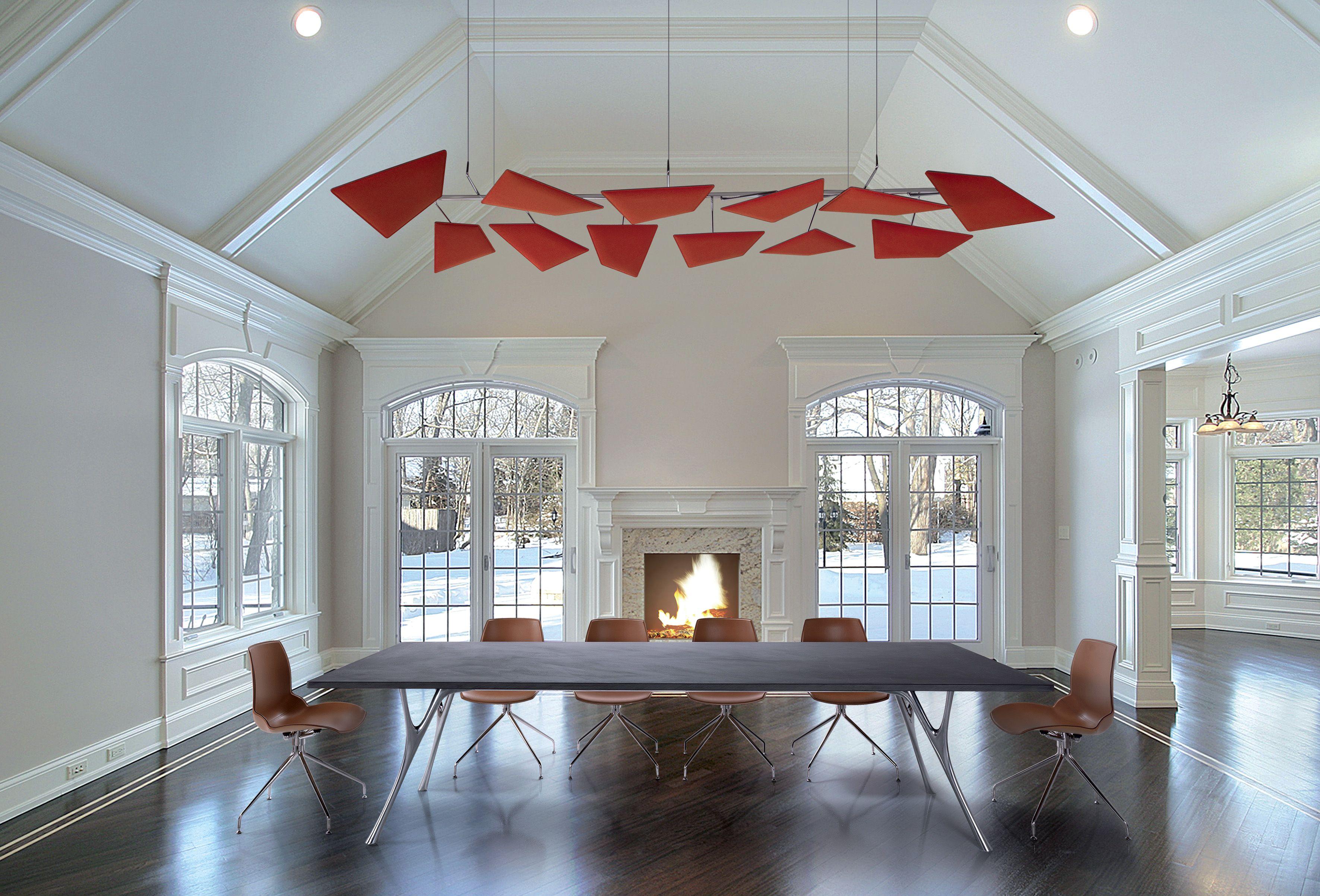 panneaux acoustiques flap de chez caimi optimiser l. Black Bedroom Furniture Sets. Home Design Ideas