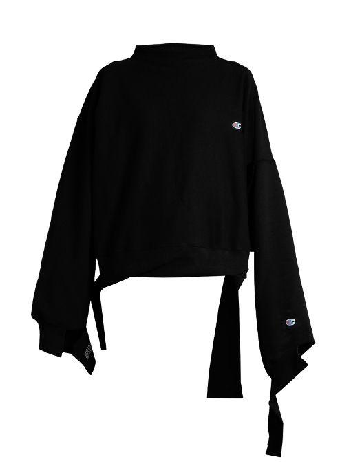 629ea6bac353 Vetements X Champion oversized cotton-blend sweatshirt