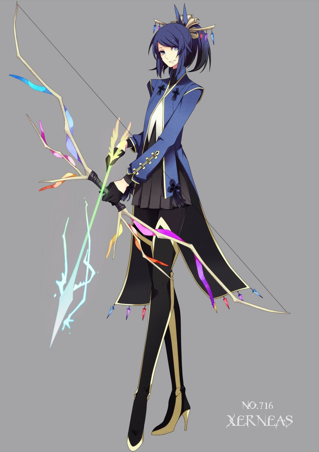human version gijinka pokemon, xerneas