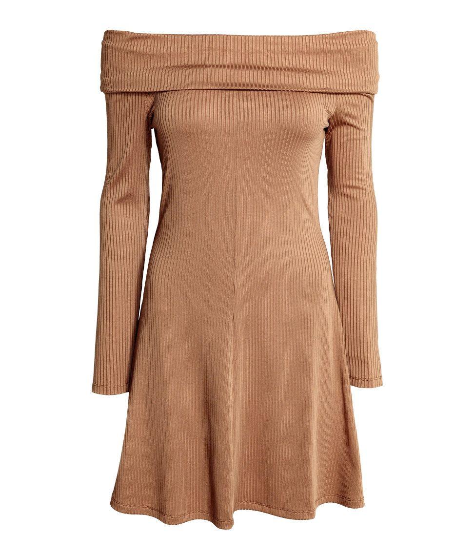 50996c7c9e5cf Off-the-shoulder Dress | H&M Divided | H&M DIVIDED GIRLS | Dresses ...