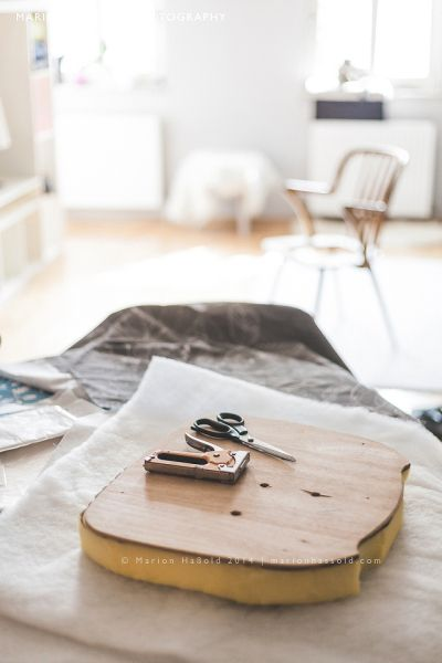 DIY Upcycling – Wie man ein Stuhlpolster neu bezieht Marion's Blog | Marion's…