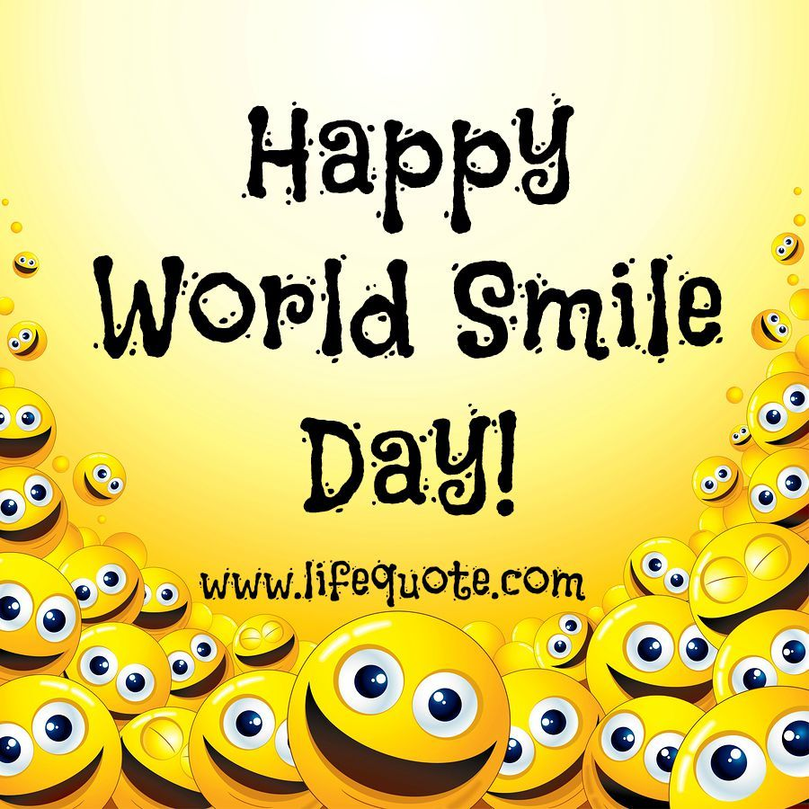 Inspirational Day Quotes: Image Result For World Smile Day 2016