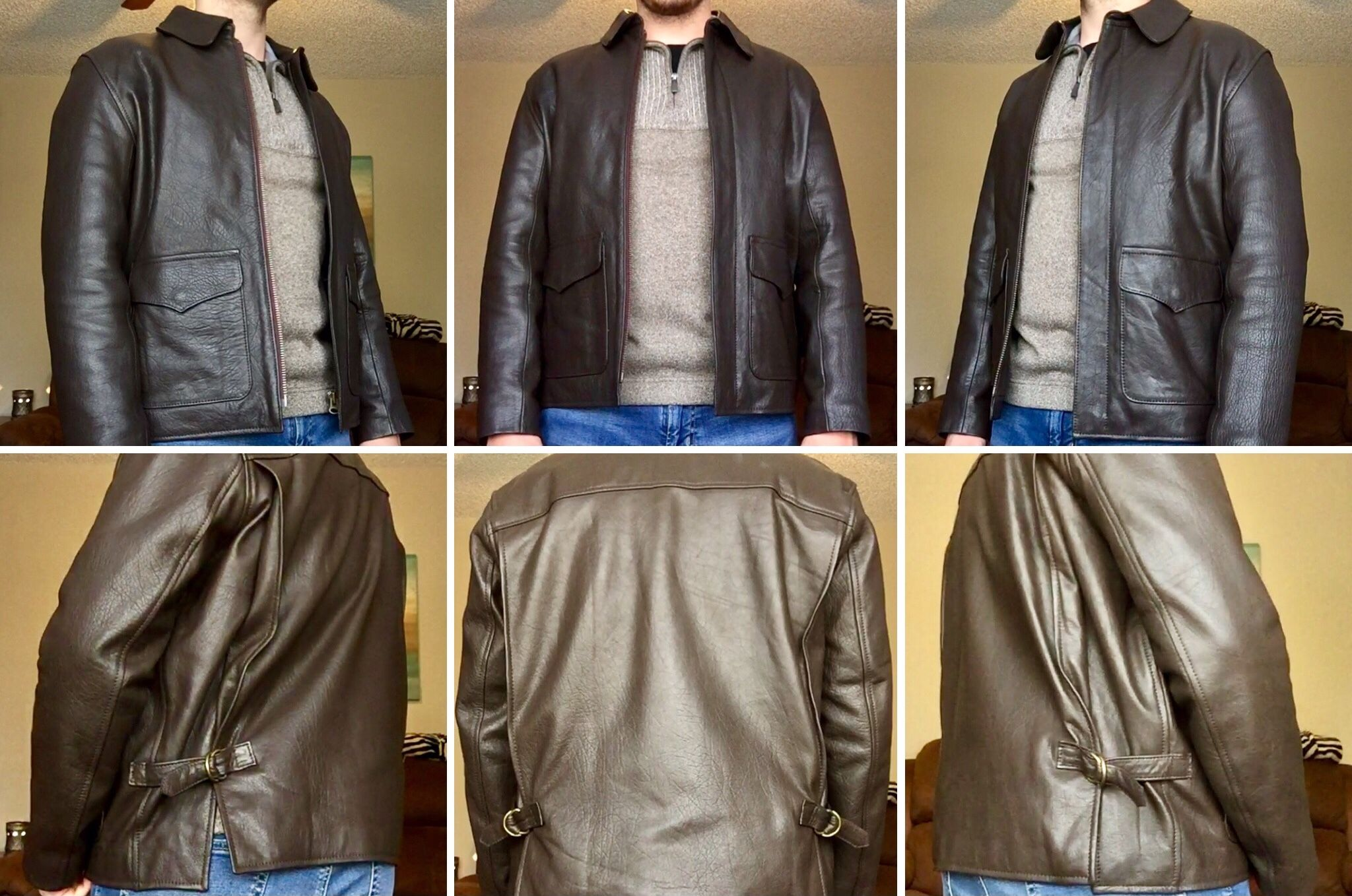 wested leather raiders jacket