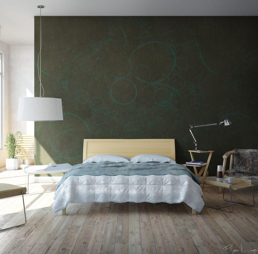bedroom wall pictures. Bedroom Walls that Pack a Punch  Green walls Bedrooms and Interiors
