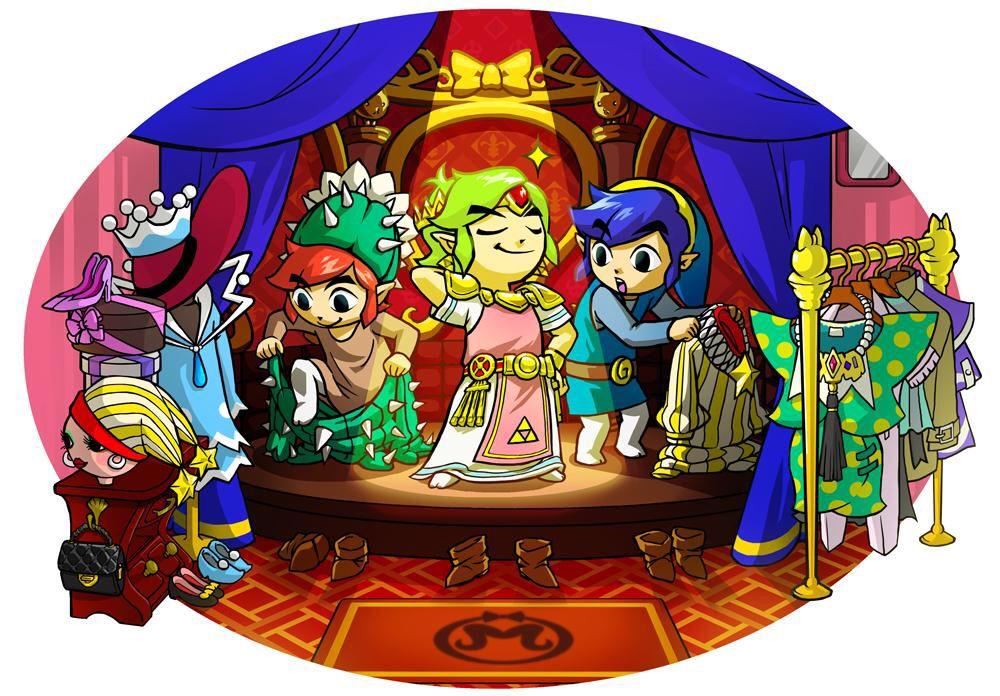 The Legend Of Zelda: Tri Force Heroes | 3DS | 2015