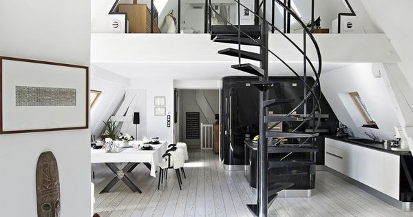 Liked on Pinterest Modern bioclimatic duplex loft with rooftop - wandfarbe beige braun