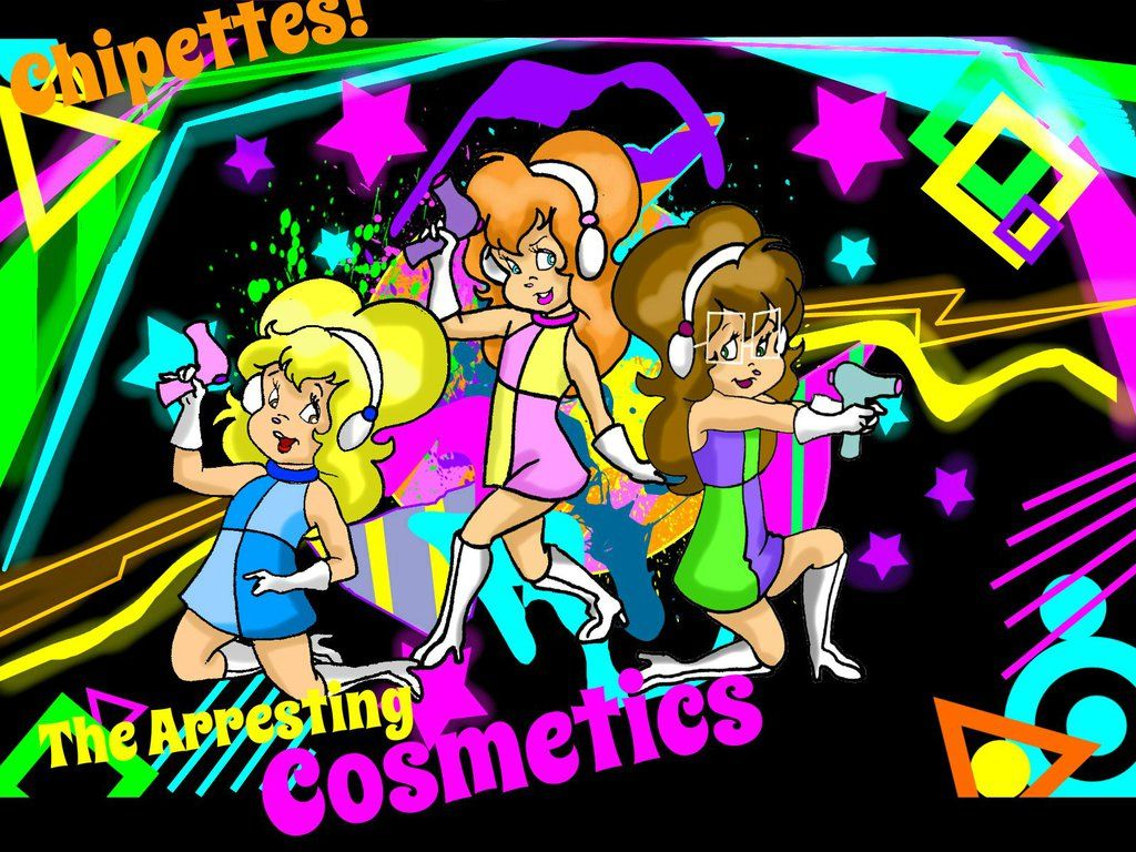 Chipettes The Arresting Cosmetics By Tinycon.deviantart