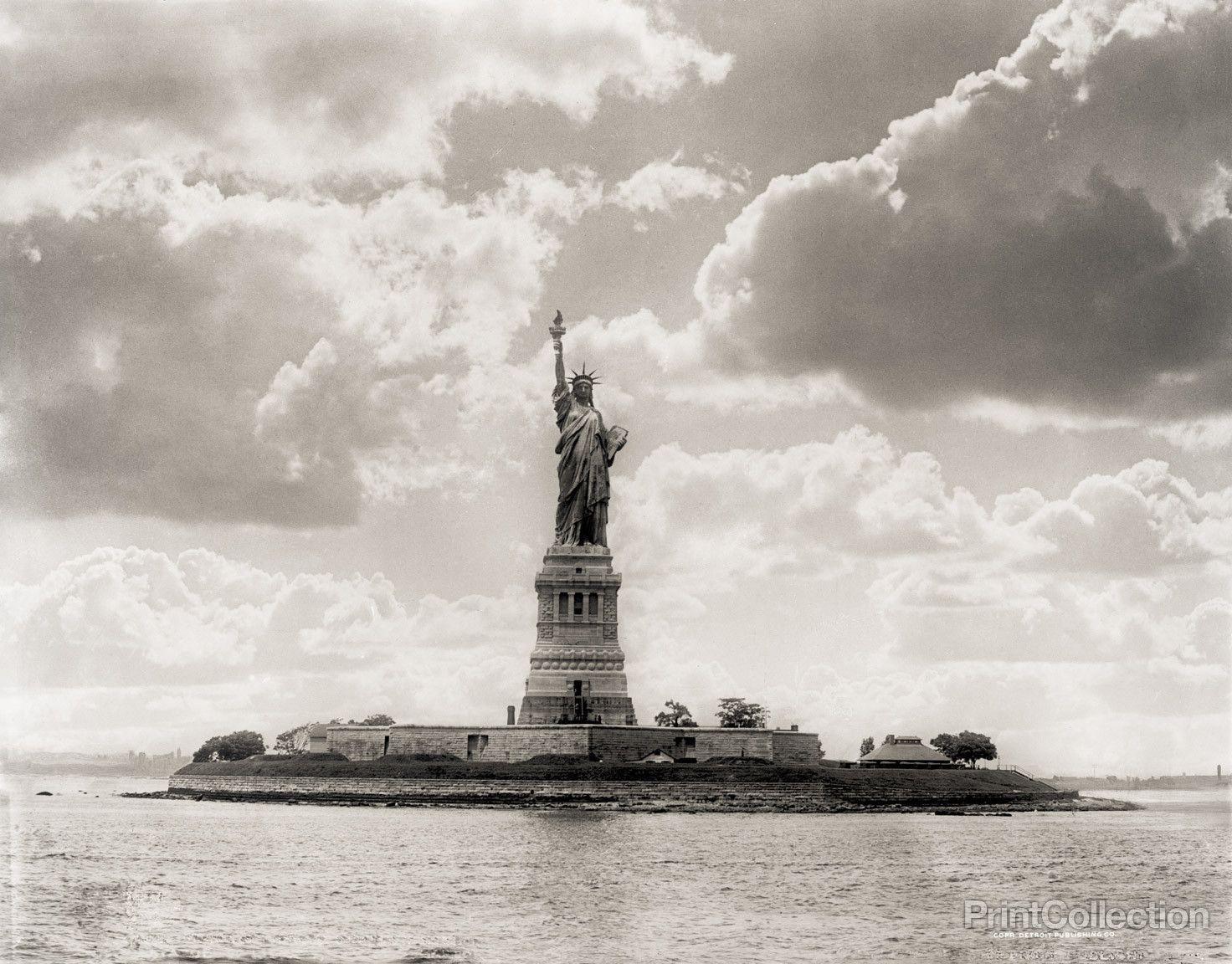 Statue of Liberty, New York Harbor, 1905