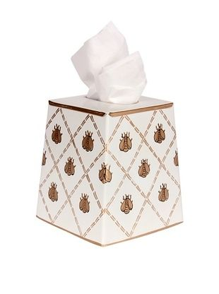 39% OFF Jayes French Bee Cream & Gold Tissue Cover