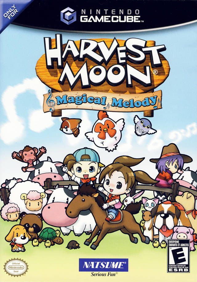 Harvest Moon Magical Melody Gamecube Game Harvest Moon Gamecube Harvest Moon Game Harvest Moon Wii