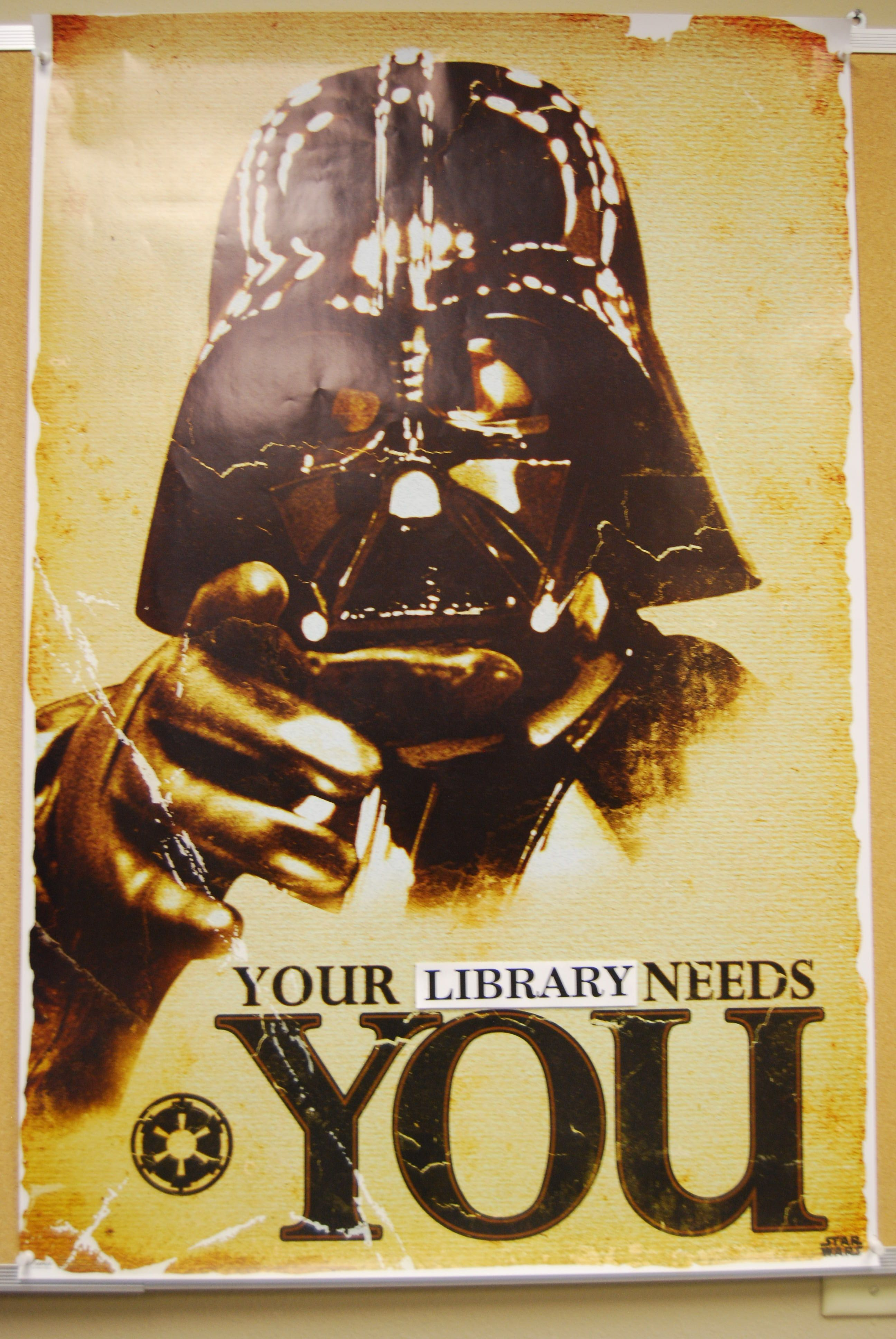 """Your Library Needs You"": Star Wars volunteer appreciation ..."