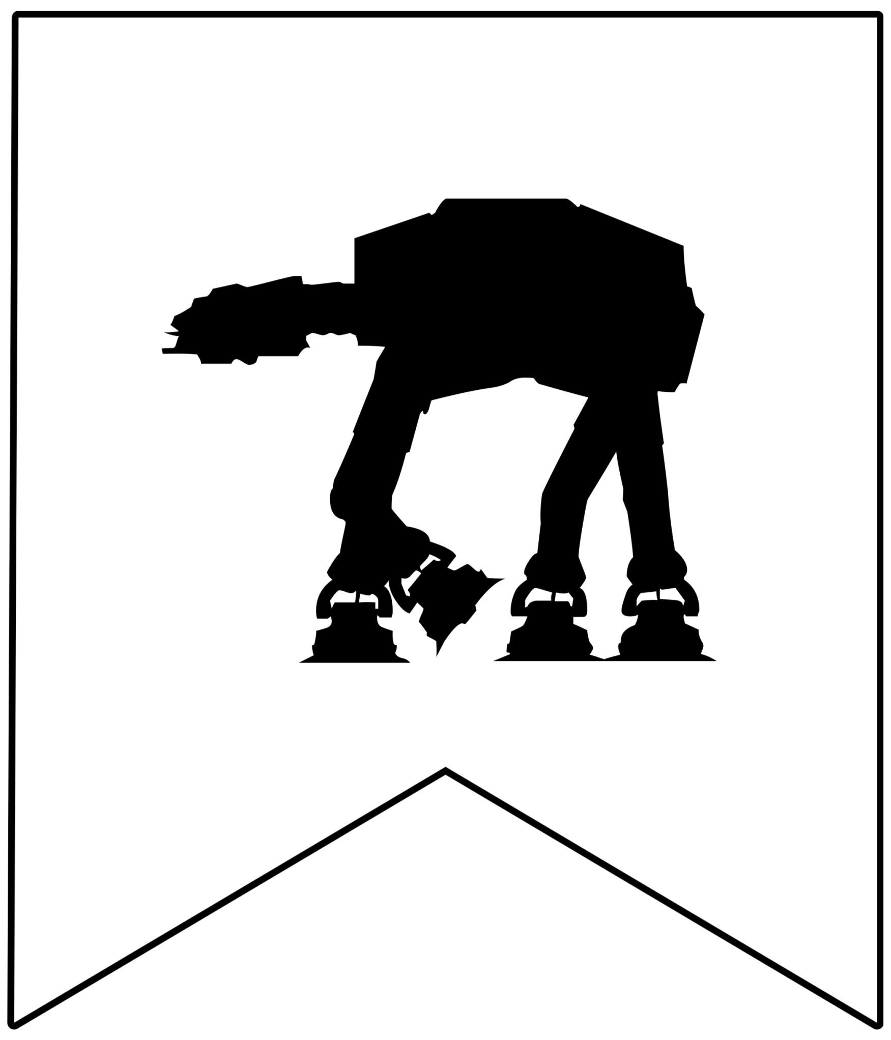 May The 4th Be With You Birthday: Star Wars Printables { Free Star Wars Printable Banner