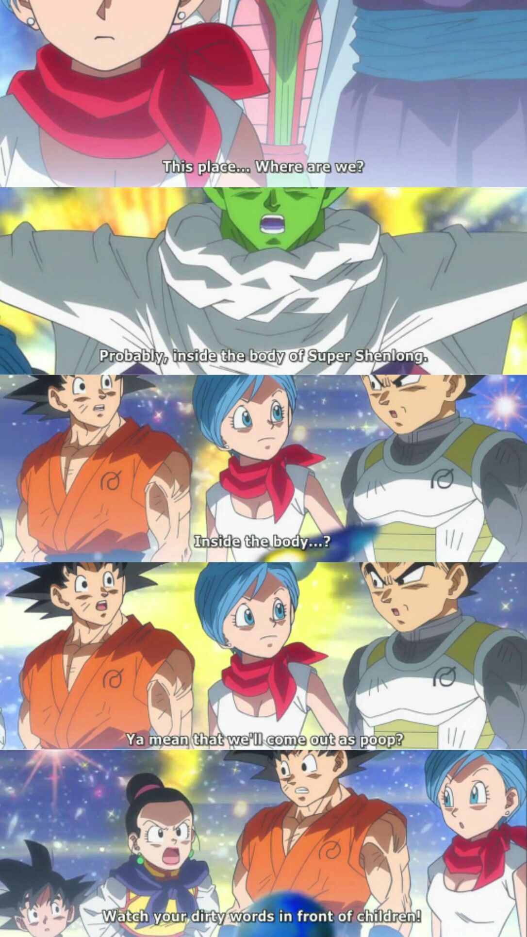 9a703261 Goku, Vegeta, Bulma, Piccolo, and Chichi | Funny Memes/ECards ...