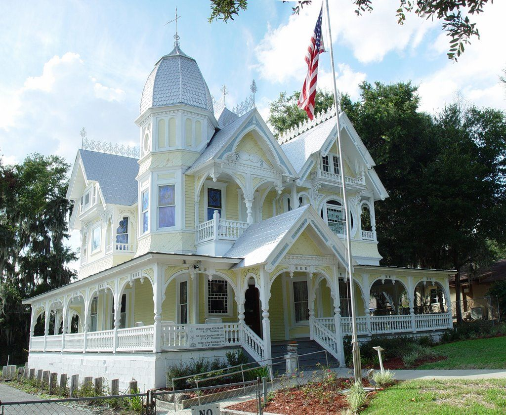 Highly decrative queen ann victorian 1893 donnelly house for Donnelly house