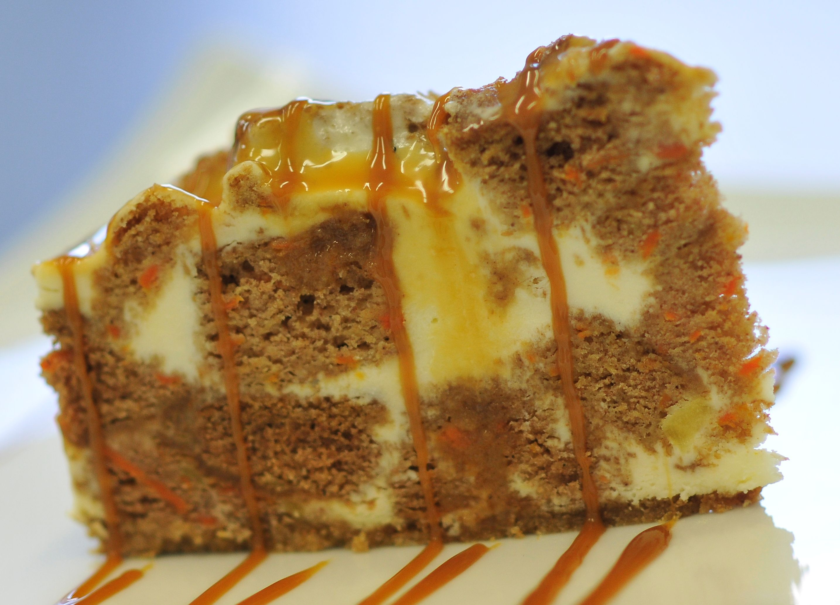 G 226 Teau Au Fromage Aux Carottes Carrot Caramel Cheesecake
