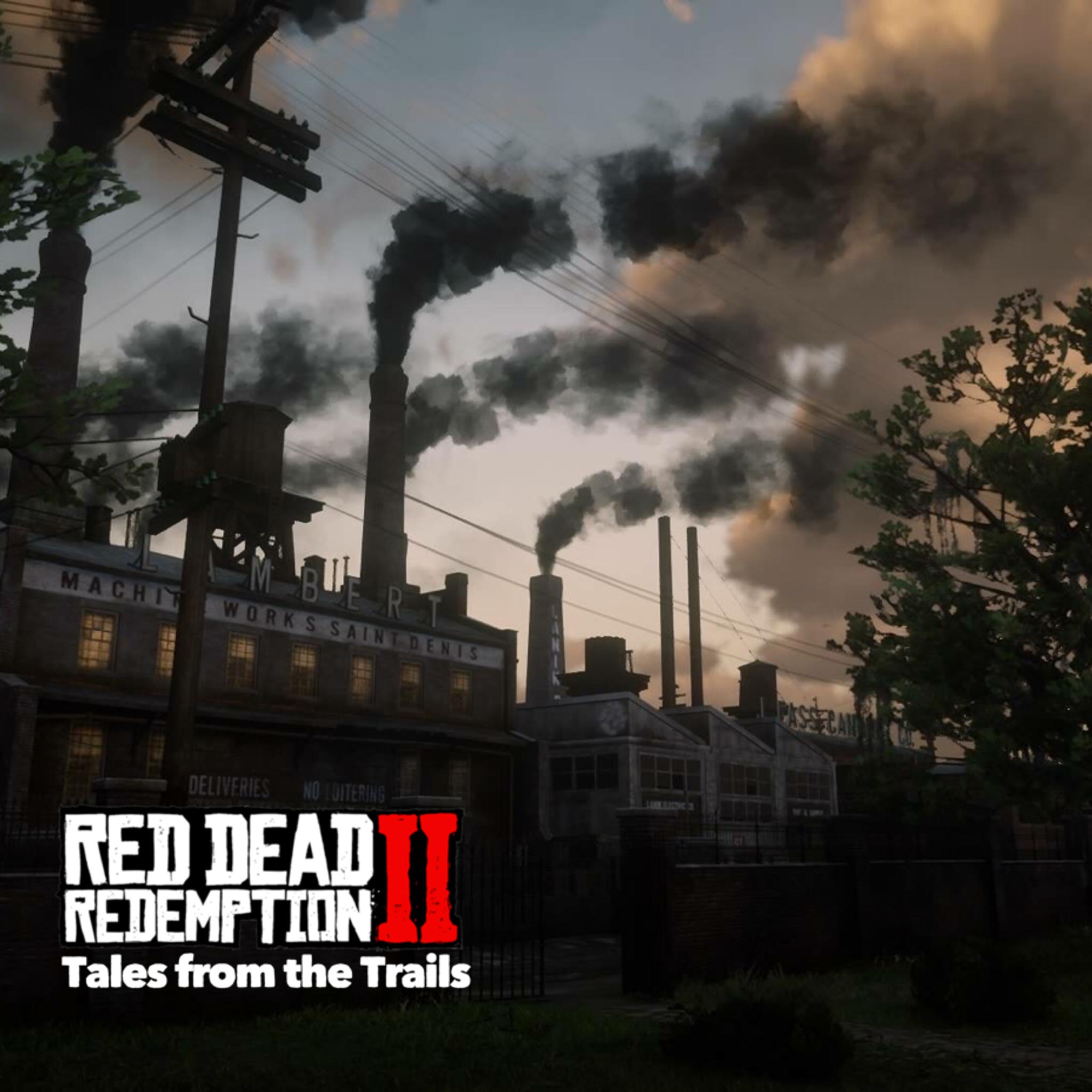 Red Dead Redemption 2 Saint Denis Factories At Night Red Dead Redemption Red Dead Redemption Ii Saint Denis