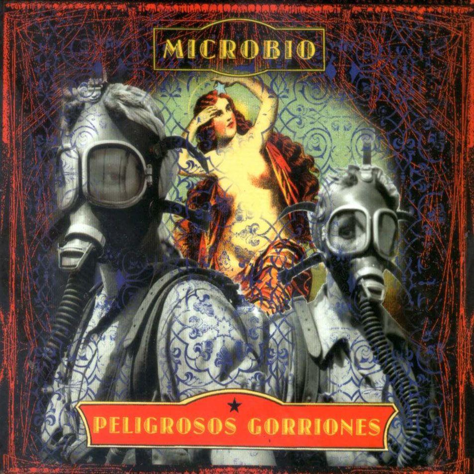 Caratula Frontal de Peligrosos Gorriones - Microbio