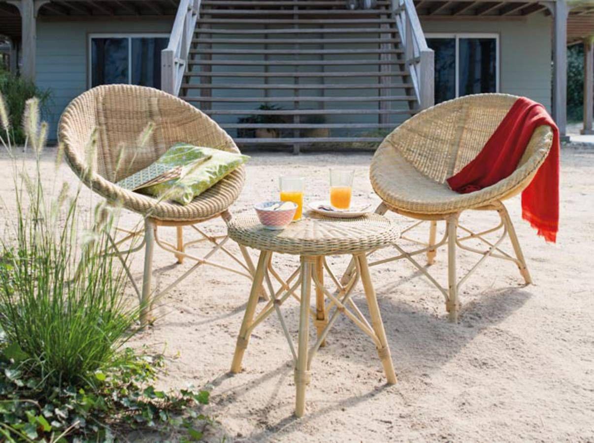 Chaise de salon de jardin jardiland - Maison mobilier et design