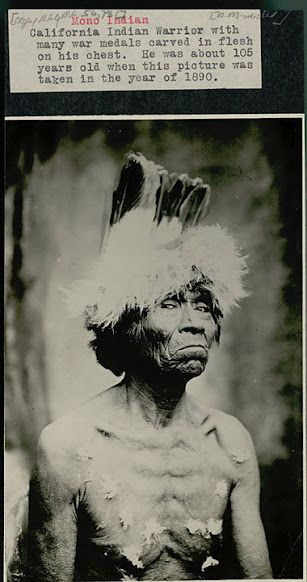 Shibana (aka Poko Tucket, aka Horse Eater, aka Captain John) - Mono - circa 1890