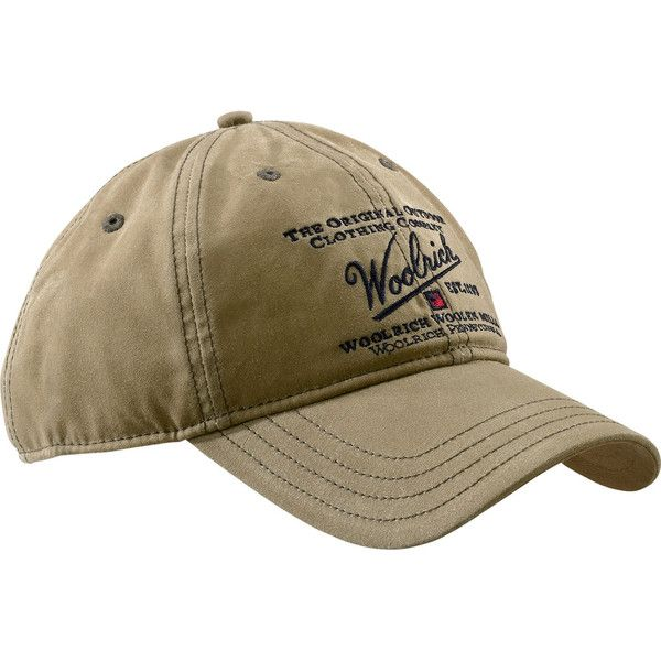 Woolrich Men S Oil Cloth Baseball Cap 25 Liked On
