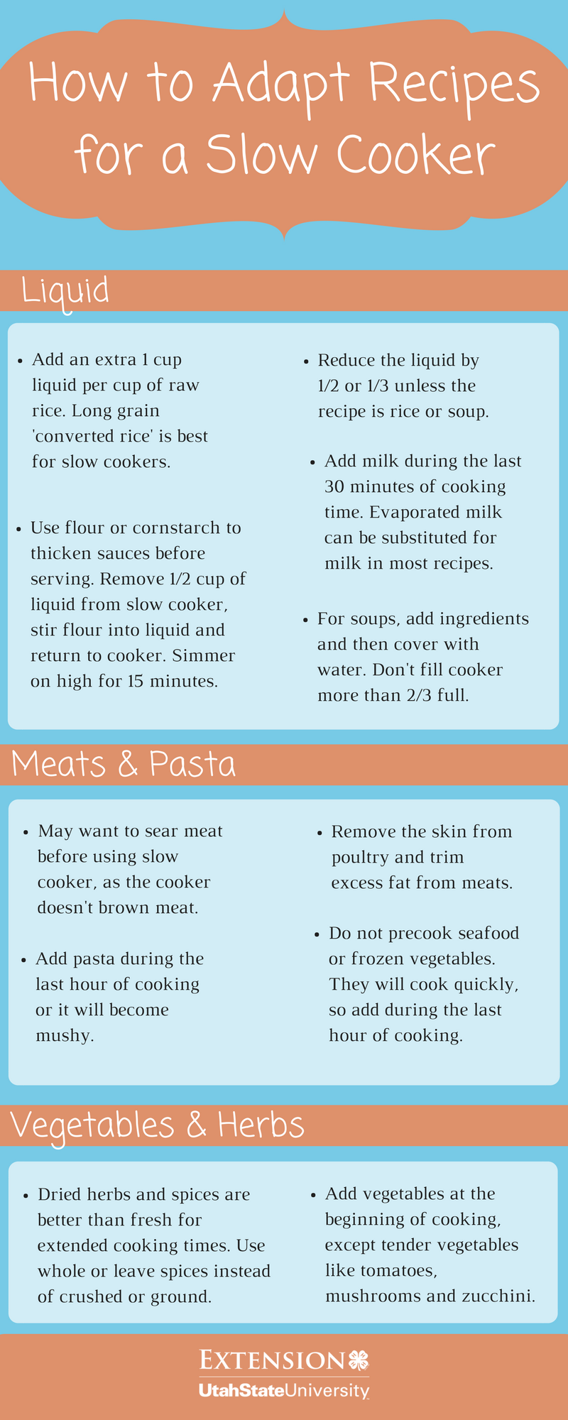 Many family favorite recipes can be easily converted to a slow ...