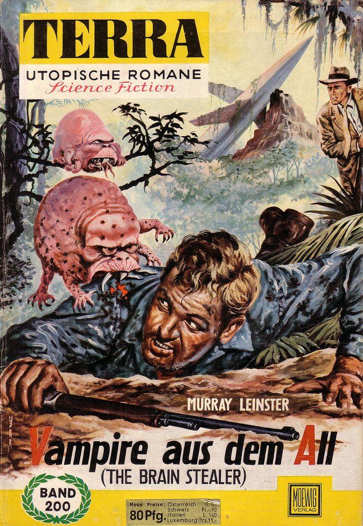 Monster Brains Terra German Science Fiction Magazine Pulp