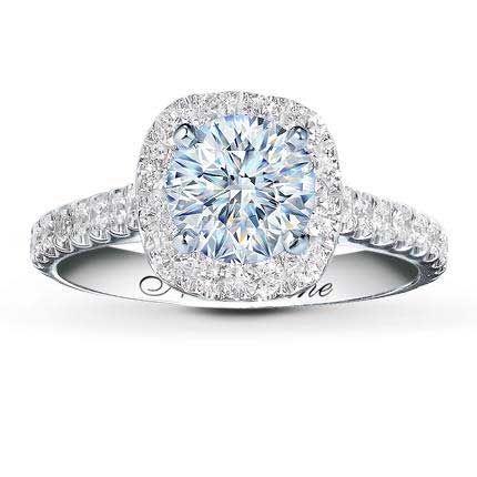 Neil Lane Diamond Halo Engagement Ring From Kay Jewelers