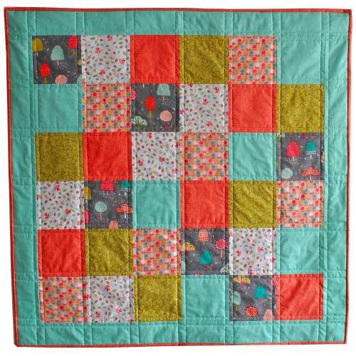 Fablewood Quick & Easy/Beginner's Quilt Kit - pre-cut squares ... : beginning quilting kits - Adamdwight.com