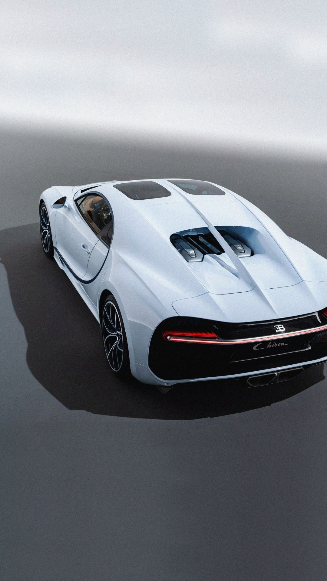 Bugatti Chiron Sky View Glass Roof Luxury Car 1080x1920