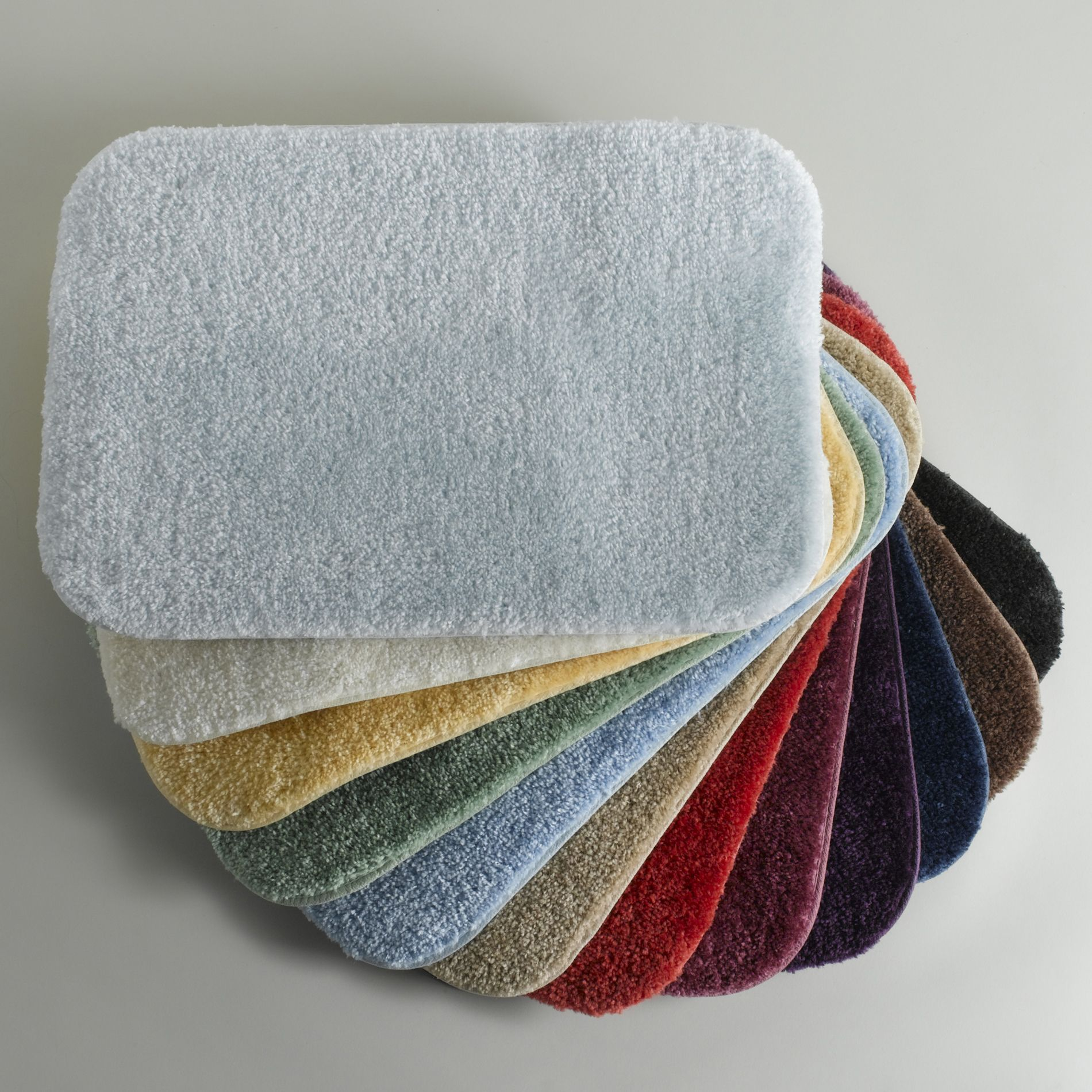 Bath Rugs With Rubber Backing Small To Medium Wish List - Large grey bath mat for bathroom decorating ideas