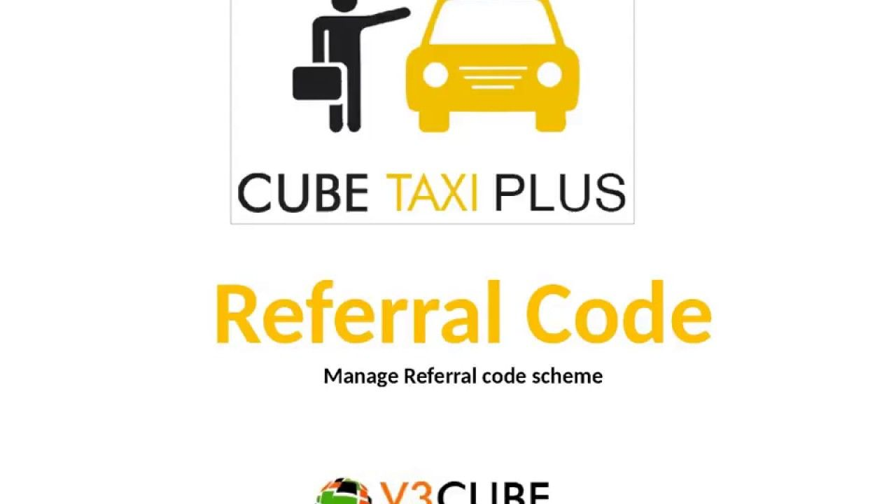 Referral Code Feature Uber Taxi Clone