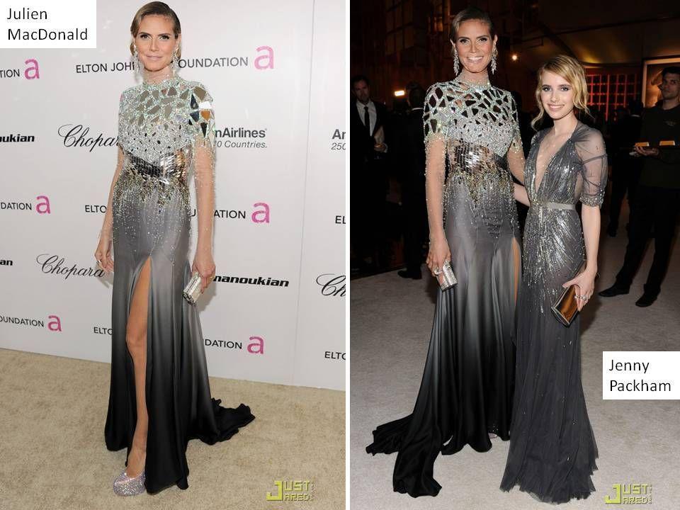 Metallic Weddings Wedding Dress Designers Designer Dresses Celebrity Amazing Elie Saab Bridal Gowns Oscar Party Heidi Klum